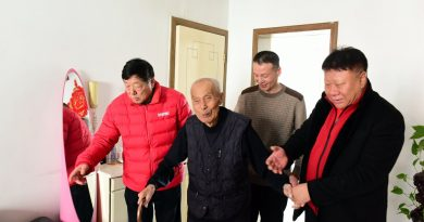 春节前夕,河北摄影界看望慰问老摄影家
